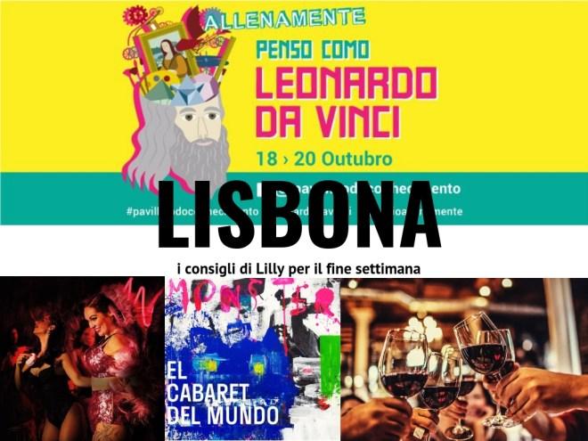 Fine settimana a Lisbona, eventi 18-20 ottobre 219