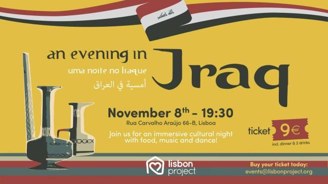 evento iraq lisbona