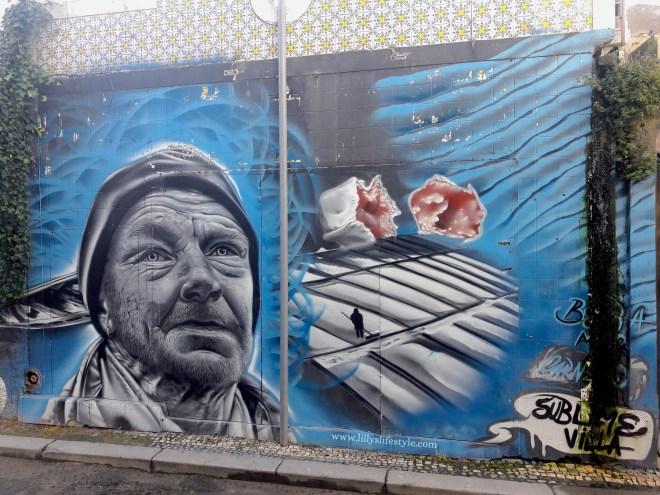 arte urbana portogallo