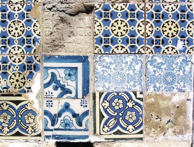 piastrelle lisbona azulejo