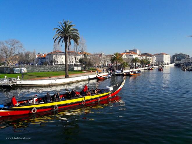barche tipiche aveiro portogallo