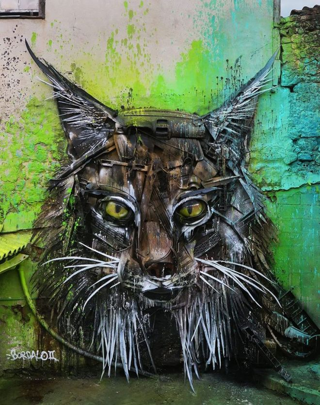 arte urbana viseu portogallo