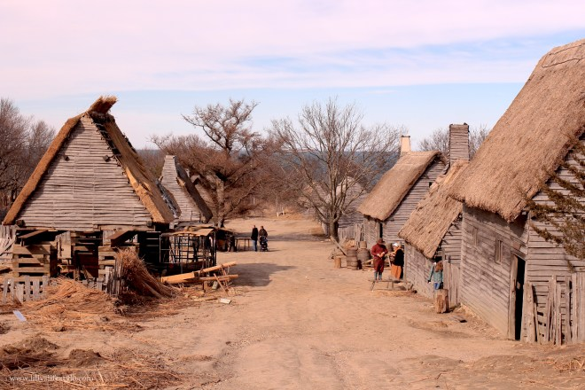 villaggio padri pellegrini USA