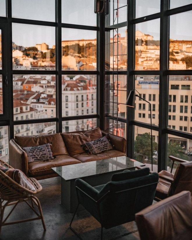 terrazze con vista a lisbona