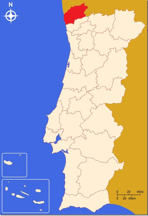 Cartina Del Portogallo Da Stampare.Portogallo Minho Terra Di Vino Verde E Non Solo Lilly S Lifestyle