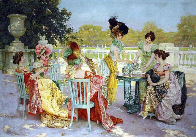 rituale dell'ora del tè origini