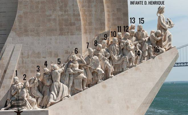 statue monumento scoperte lisbona