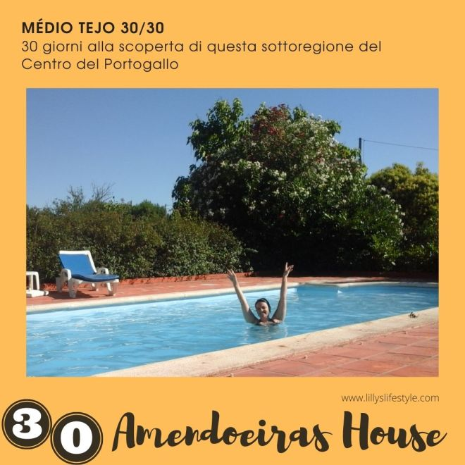casa con piscina portogallo