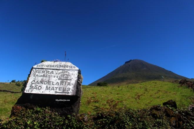 salire sul monte isola pico azzorre