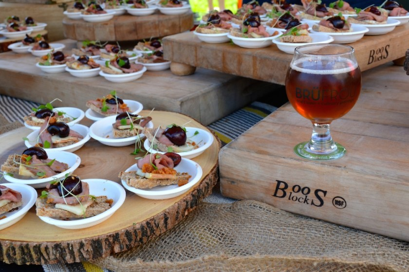 craft beer and food pairing