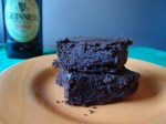 Guinness Andes Mint Brownies
