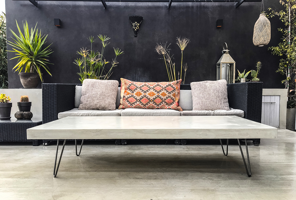 Meuble En Béton Ciré julien mathieu et l'art du meuble en béton ciré - lilm