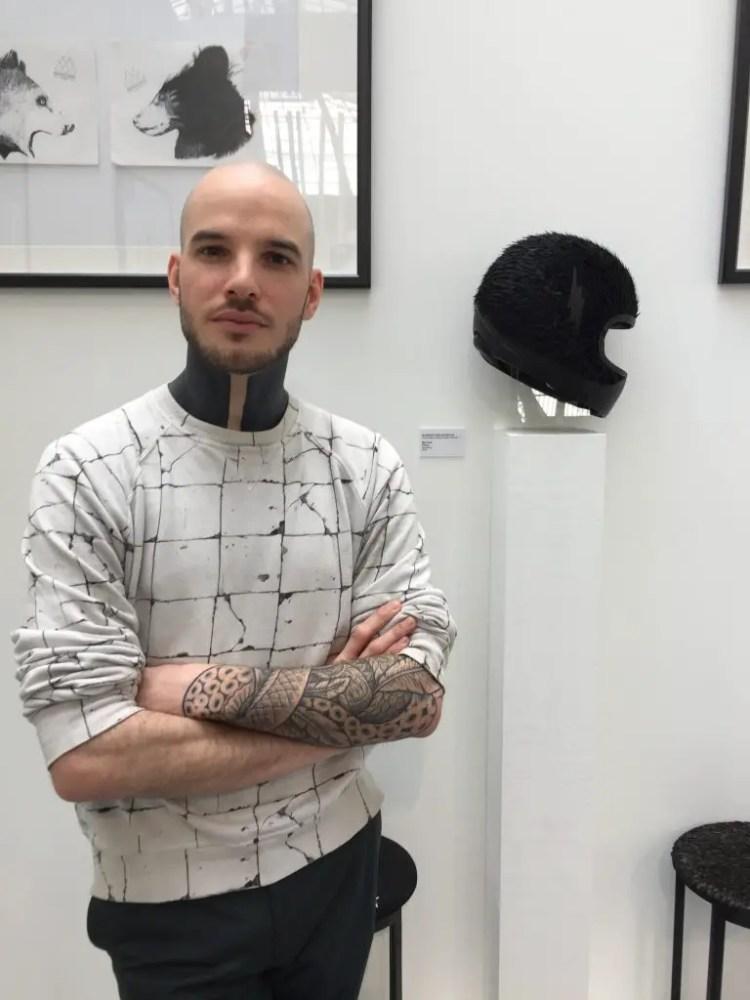 Maxime Leroy prix de la jeune création des métiers d'art