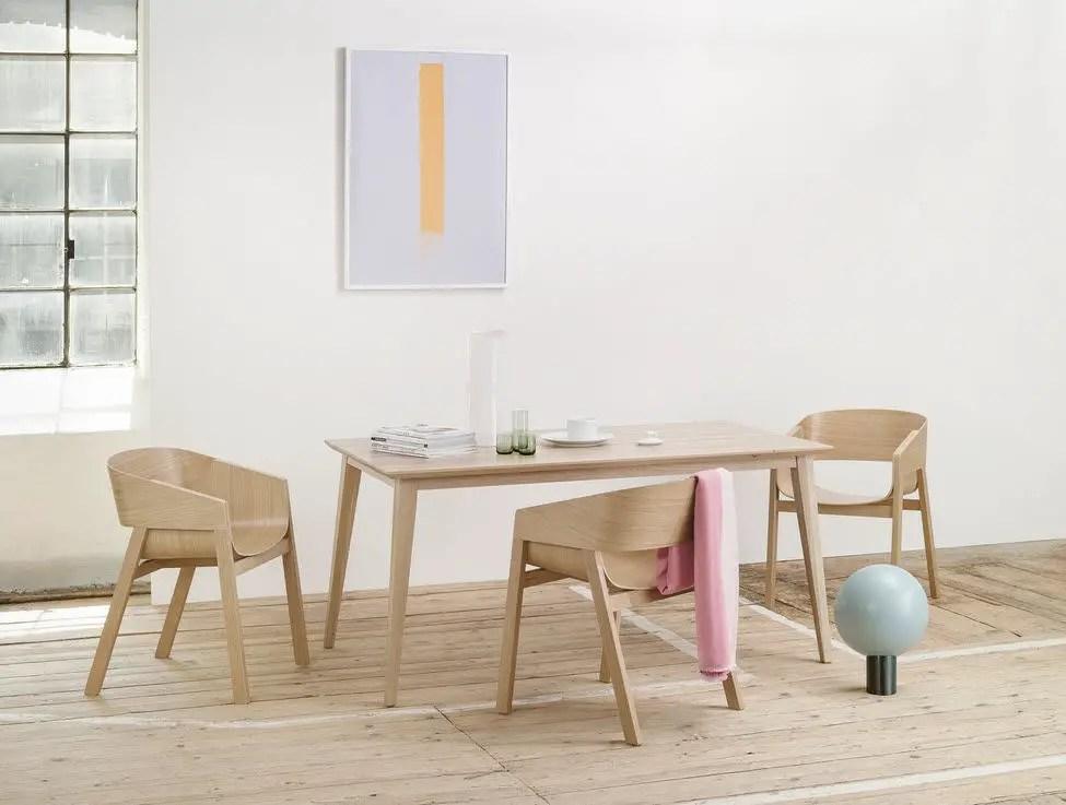 Table Scandinave Dans La Salle A Manger Pour Un Style Nordique Lilm