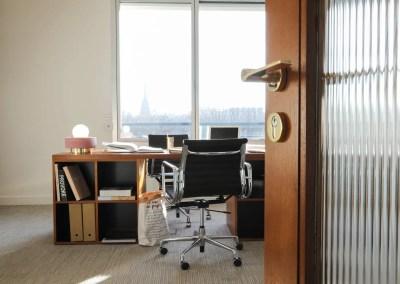 bureau isolé