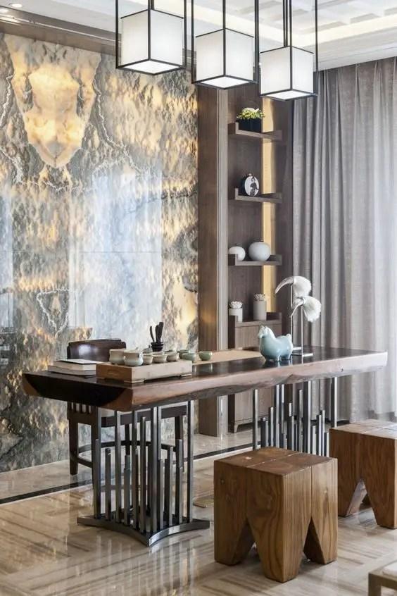 Bureau sur-mesure design alliant bois et métal