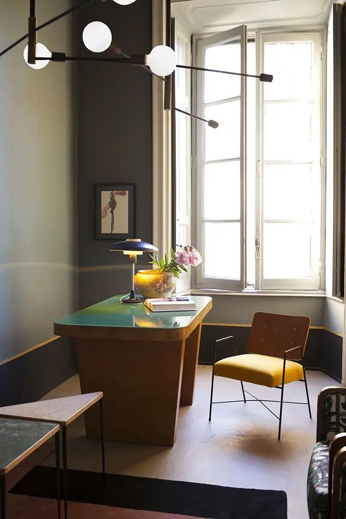 Un bureau vintage au couleur des années 70/80