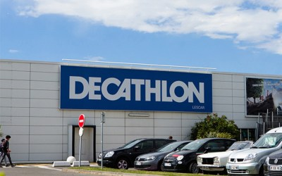 Agencement de magasin : Decathlon à fond la forme