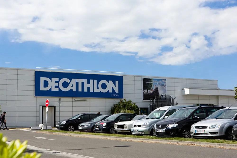 façade du magasin Decathlon Pau Lescar