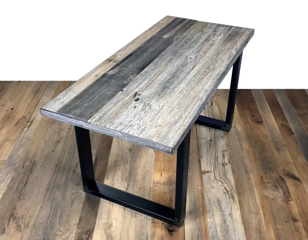 Table en vieux sapin gris