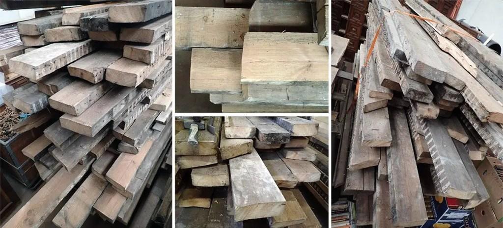 Bastaings de vieux bois
