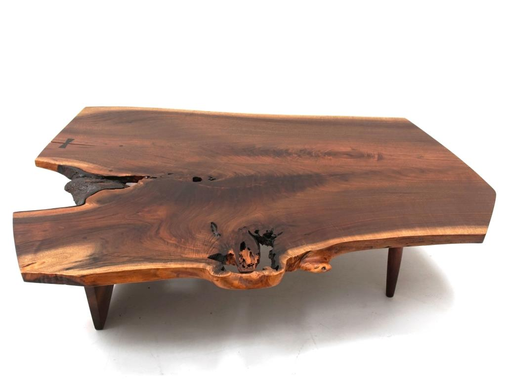 table Live Edge de George Nakashima