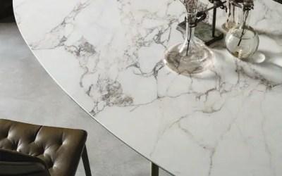 Sélection des plus belles tables à manger en pierre
