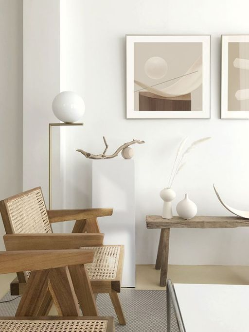intérieur moderne et minimaliste