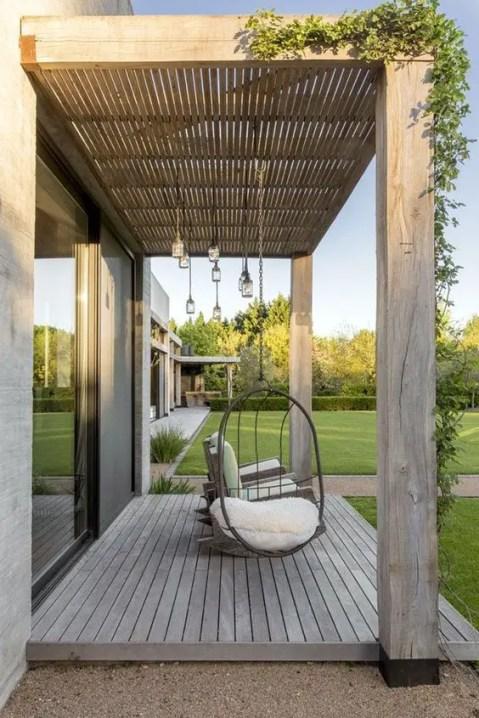Le charme de la terrasse en bois