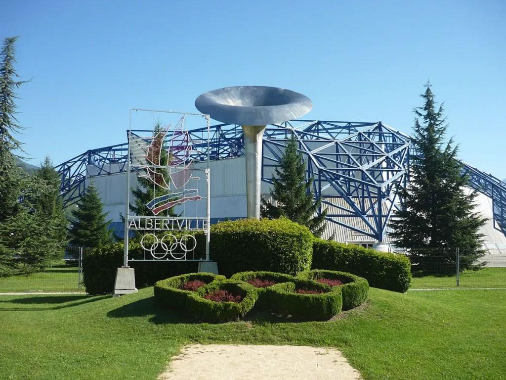 halle olympique Albertville