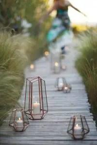 lanterne pour l'aménagement de votre terrasse