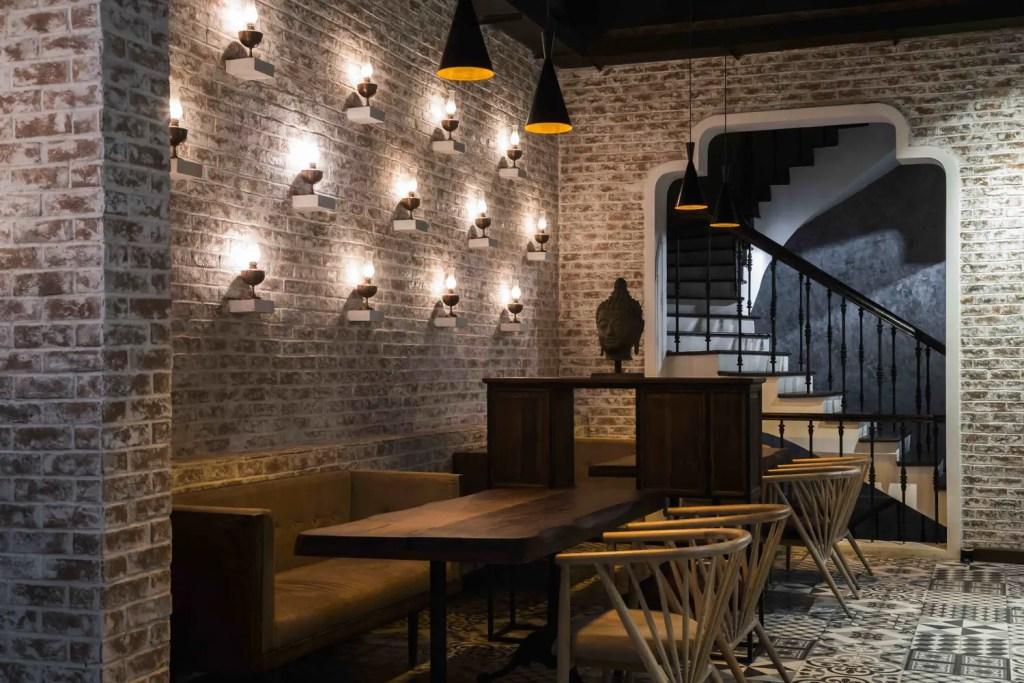 meuble séparateur restaurant