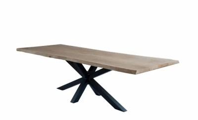Table mikado en chêne