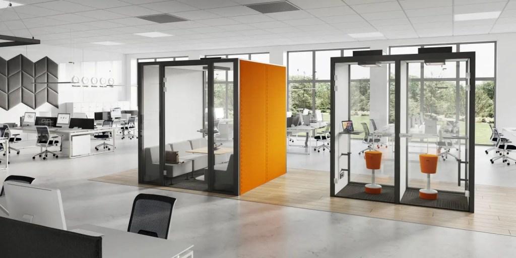 cabines acoustiques dans open space