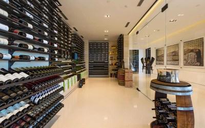 Les plus beaux agencements de cave à vin
