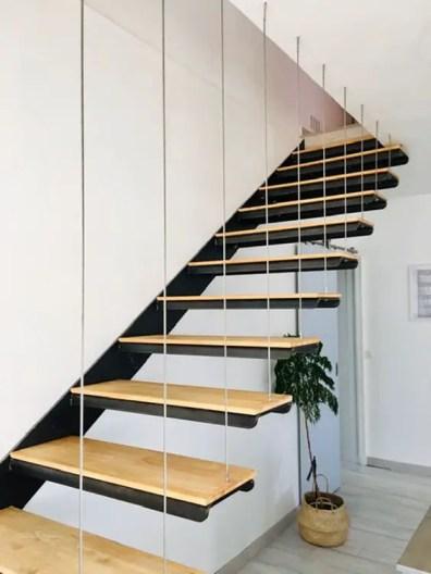 hevea bois escalier