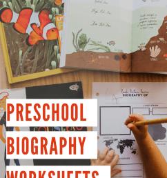 Printable Biography Worksheet: Preschool Social Studies Activity - Lil Mama  Bear Blog [ 1102 x 735 Pixel ]