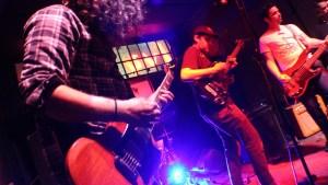 Tony Molina Band onstage