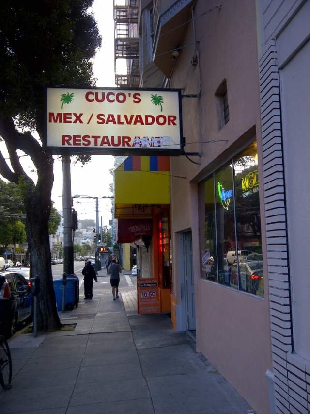 Cuco's Salvadoran food on Haight St