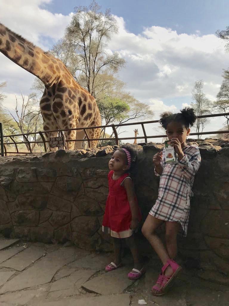 Lilmissbelle- Giraffe Centre