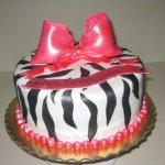 Dalia's Zebra Print Cake