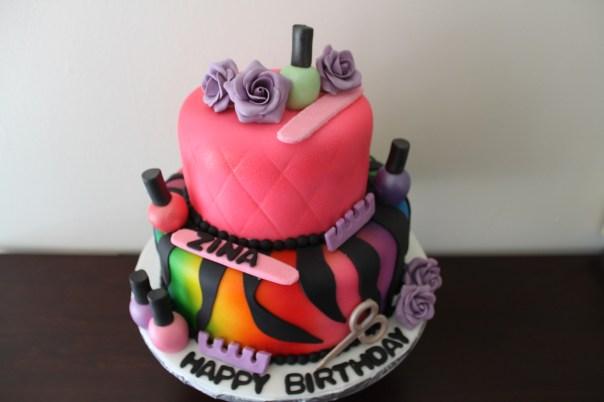 cake for manicurist
