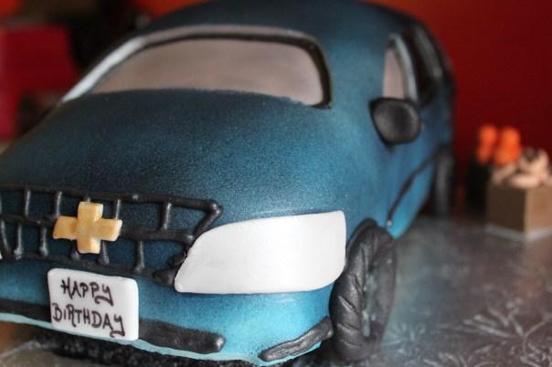 Minivan Cake