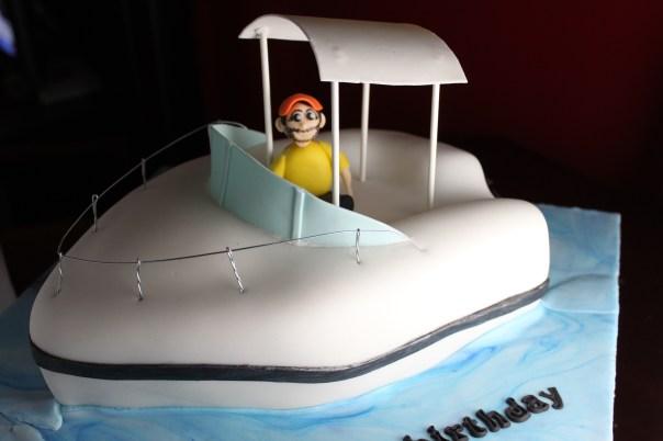 Fishing Boat Cake