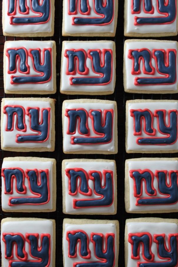 Giants Logo Cookies