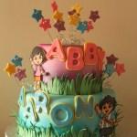 Dora and Diego Cake