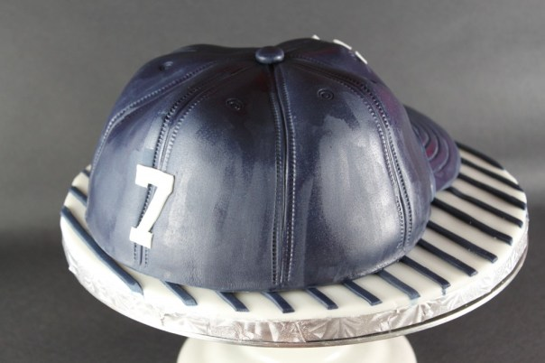 Fitted Yankee Hat Cake