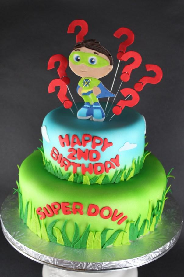 Super Why! Cake