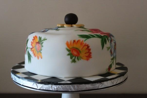 MacKenzie Childs Cake Plate Cake