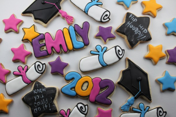 Graduation Sugar Cookie Collection